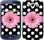 "Чехол на Samsung Galaxy S3 Duos I9300i Горошек 2 ""2147c-50"""