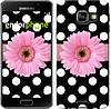 "Чехол на Samsung Galaxy A3 (2016) A310F Горошек 2 ""2147c-159"""