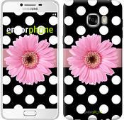 """Чехол на Samsung Galaxy C7 C7000 Горошек 2 """"2147u-302"""""""