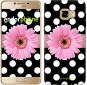 """Чехол на Samsung Galaxy C5 C5000 Горошек 2 """"2147u-301"""""""