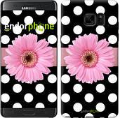 "Чехол на Samsung Galaxy Note 7 Duos N930F Горошек 2 ""2147u-346"""
