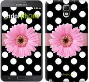 "Чехол на Samsung Galaxy Note 3 Neo N7505 Горошек 2 ""2147u-136"""