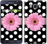 "Чехол на Samsung Galaxy J7 (2016) J710F Горошек 2 ""2147c-263"""