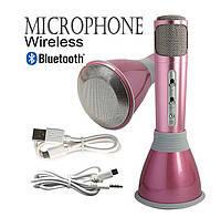 Беспроводной микрофон караоке bluetooth K068, праздник всегда с  Вами