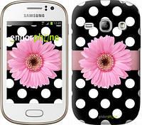 """Чехол на Samsung Galaxy Fame S6810 Горошек 2 """"2147u-254"""""""