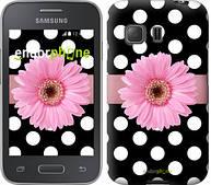 """Чехол на Samsung Galaxy Young 2 G130h Горошек 2 """"2147u-206"""""""