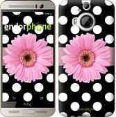 "Чехол на HTC One M9 Plus Горошек 2 ""2147u-134"""