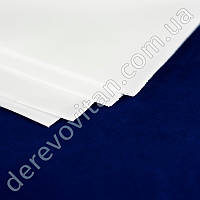 Фоамиран листовой, белый, 50×50 см, 10 листов