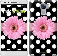 "Чехол на Huawei Honor 7 Горошек 2 ""2147u-138"""