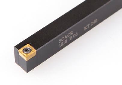 SCACR1010F06 Резец проходной  (державка токарная проходная)