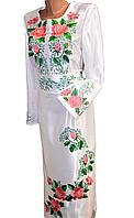 """Жіноче вишите плаття """"Нейві"""" (Женское вышитое платье """"Нейви"""") PR-0017"""