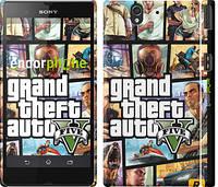 "Чехол на Sony Xperia Z3 Compact D5803 GTA 5. Collage ""630c-277"""