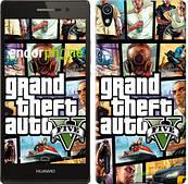 "Чехол на Huawei Honor 4 Play GTA 5. Collage ""630u-213"""