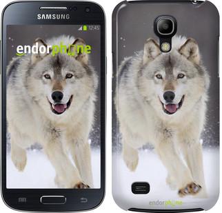 "Чехол на Samsung Galaxy S4 mini Бегущий волк ""826c-32"""