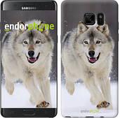 "Чехол на Samsung Galaxy Note 7 Duos N930F Бегущий волк ""826u-346"""