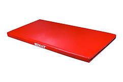 Мат гимнастический спортивный SENAT 1х2м, кожзам