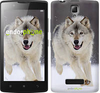 "Чехол на Lenovo A2010 Бегущий волк ""826c-216"""