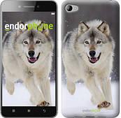 """Чехол на Lenovo S90 Бегущий волк """"826u-115"""""""