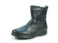 Детские зимние сапоги, ботинки кожаные р.33-38 ТМ Calorie:E8129-4