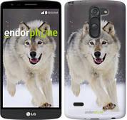 """Чехол на LG G3 Stylus D690 Бегущий волк """"826c-89"""""""