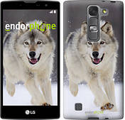 "Чехол на LG G Pro 2 D838 Бегущий волк ""826u-375"""