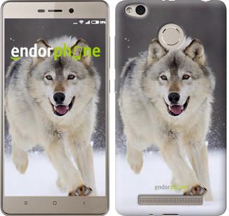 "Чехол на Xiaomi Redmi 3s Бегущий волк ""826c-357"""