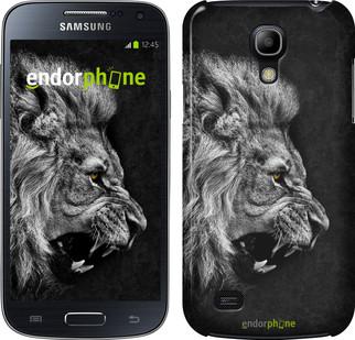 "Чехол на Samsung Galaxy S4 mini Лев ""1080c-32"""
