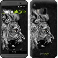 "Чехол на HTC One M9 Лев ""1080u-129"""