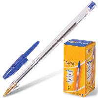 "Ручка шариковая ""BIC"" синяя 1мм ""Cristal"""