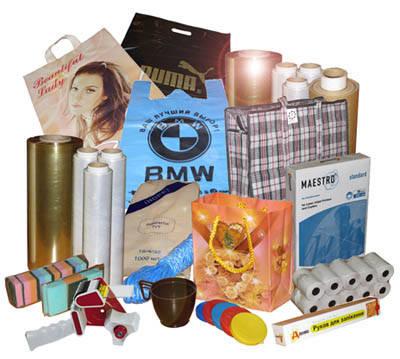 Упаковочный материал, хозяйственные сумки