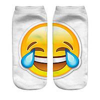 Носки 3D Смайлик Smile, Emoji