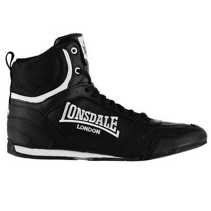 Боксерки Lonsdale Mens Boxing Boots, фото 2