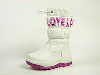Зимние сапоги для девочки р.27-32 ТМ Jong&Golf, код J&G B-9182-7