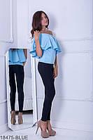Женская блузка Подіум Milena 18475-BLUE XS Голубой