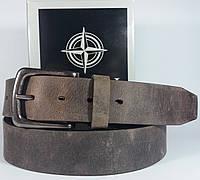 Кожаный ремень винтажным эффектом потертости Tony Perotti (cinture i dogi) 47  Италия