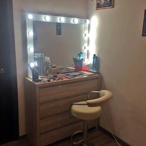 Зеркало с полочкой для парикмахера, фото 2