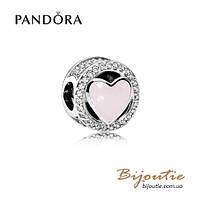 Pandora Шарм ВОЛШЕБНАЯ ЛЮБОВЬ #792034CZ серебро 925 Пандора оригинал