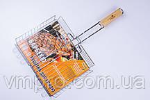 Решетка-гриль,для мангала,барбекю,малая Stenson 56×31×24×5.5 см №0086