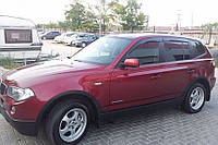 Дефлекторы окон (ветровики) BMW X3 (E83) 2003-