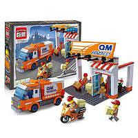 Конструктор Brick City Series (Брик Сити) 1119 Служба доставки, 337 дет