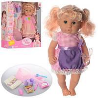 Кукла 30801-B9-C1 с горшком ( аналог Беби Борн)