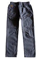 Детские брюки с поясом-резинкой; 98, 116 размер, фото 1