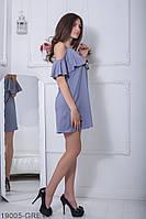 Женское платье Подіум Ariana 19005-GREY L-XXL Серый