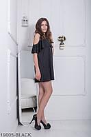 Женское платье Подіум Ariana 19005-BLACK XS-M Черный