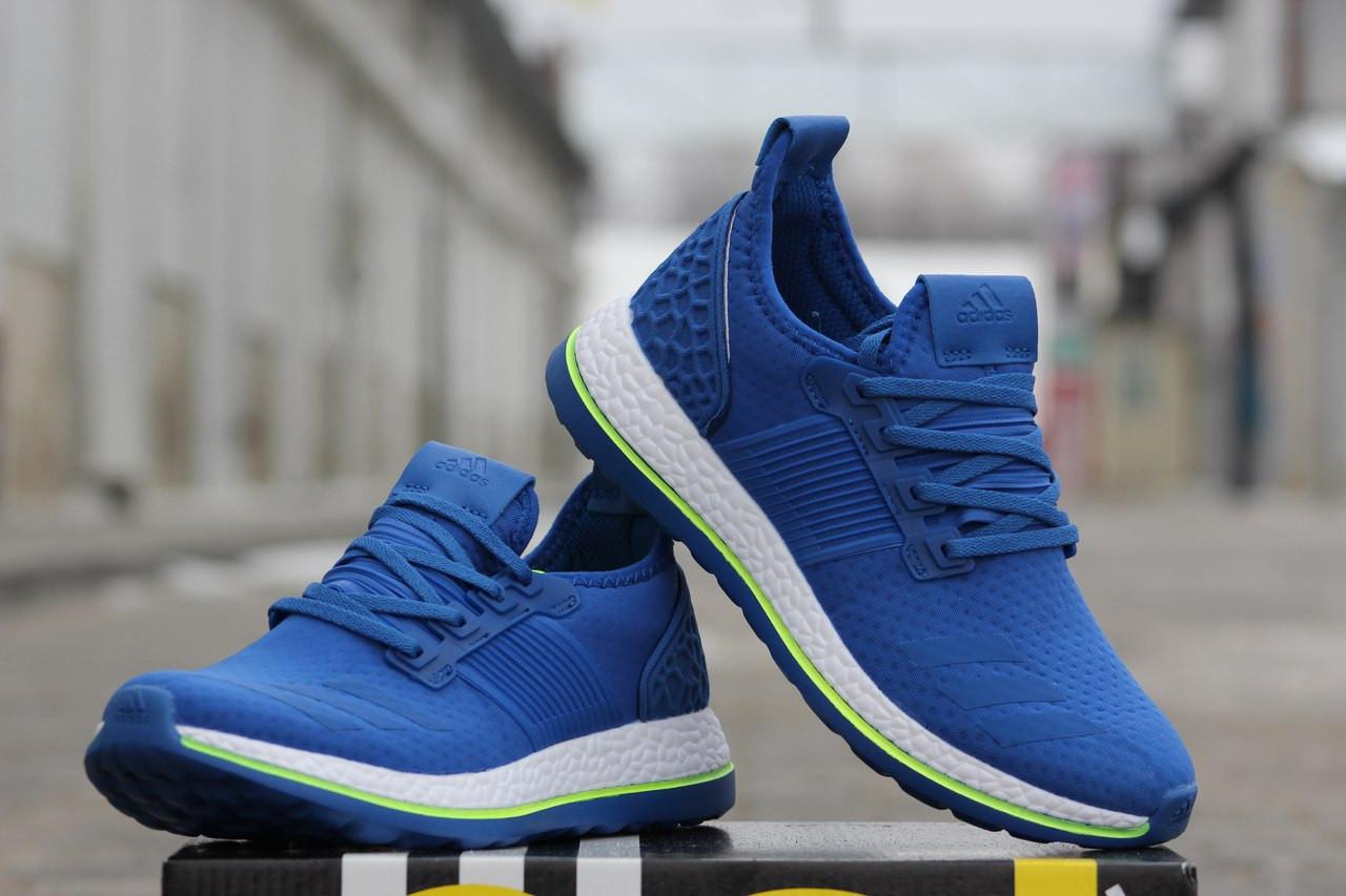 05418f2cd Крутые мужские кроссовки Adidas Pure Boost,синие,40р , цена 700 грн.,  купить в Хмельницком — Prom.ua (ID#478858837)