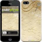 "Чехол на iPhone 5s Кружевной орнамент ""2160c-21"""