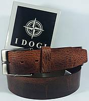 Необычный кожаный ремень с потертостями от итальянского бренда Tony Perotti коллекции I DOGI 46