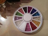 Бульонки разноцветные, карусель.