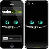"""Чехол на iPhone 5s Чеширский кот """"689c-21"""""""