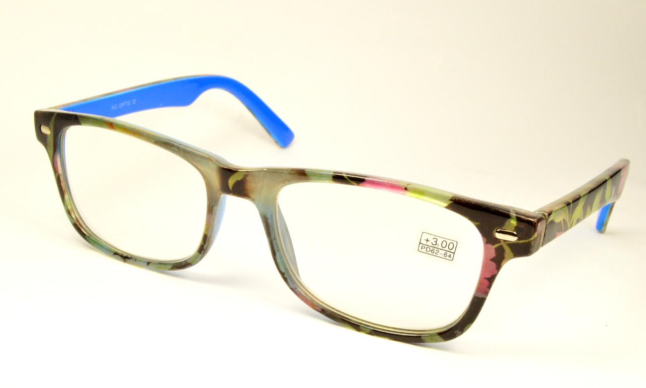Молодежные очки в пластиковой оправе (1713 с)